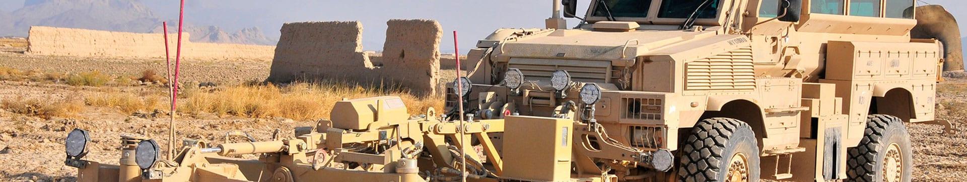 combat-engineering equipment