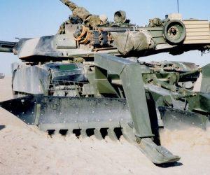 Combat Eng - Mine Breaching - Full width line plough